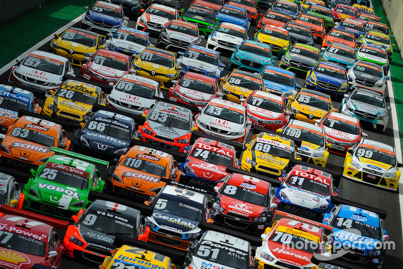 Fin de semana siete carreras en Interlagos