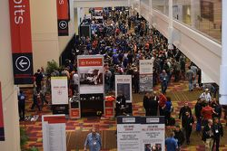 Busy halls of the PRI