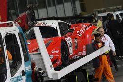 #99 Kessel Racing Ferrari 458 İtalya: Michael Lyons, Marco Zanuttini, Vadim Gitlin