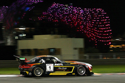 #1 Black Falcon, Mercedes SLS AMG: Jeroen Bleekemolen, Maro Engel, Khaled Al Qubaisi