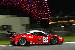 #99 Kessel Racing, Ferrari 458 Italia: Michael Lyons, Marco Zanuttini, Vadim Gitlin
