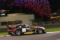 #1 Black Falcon Mercedes SLS AMG: Jeroen Bleekemolen, Maro Engel, Khaled Al Qubaisi