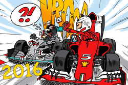 La couverture du calendrier 2016 Cirebox Motorsport.com