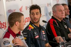 Daniel Ricciardo in the press conference