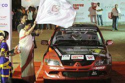 Lohitt Urs and Shrikant Gowda, Mitsubishi Lancer Evo VIII