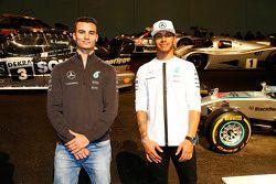 Lewis Hamilton y Pascal Wehrlein