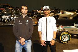 Lewis Hamilton and Pascal Wehrlein