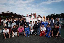 Tiago Monteiro, Honda Racing Team JAS, Gabriele Tarquini, Honda Racing Team JAS, Norbert Michelisz, Zengo Motorsport