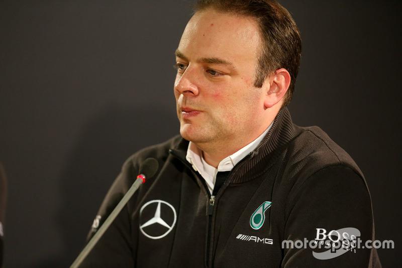 Ulrich Fritz, Mercedes-Teamchef