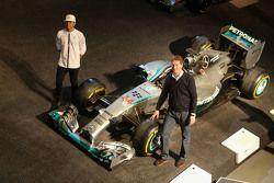 Lewis Hamilton, Mercedes AMG F1 and Ola Källenius, Daimler AG Board member
