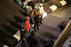 Esteban Ocon, Felix Rosenqvist, Pascal Wehrlein, Lewis Hamilton, Mercedes AMG F1,Sebastian Asch, Luc
