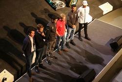 Эстебан Окон, Феликс Розенквист, Паскаль Верляйн, Льюис Хэмилтон, Mercedes AMG F1, Себастьян Аш, Лук