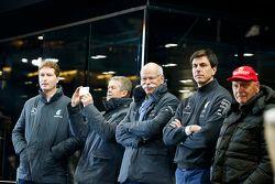 Ola Kaellenius, Dr. Thomas Weber, Dr. Dieter Zetsche, Toto Wolff, Niki Lauda