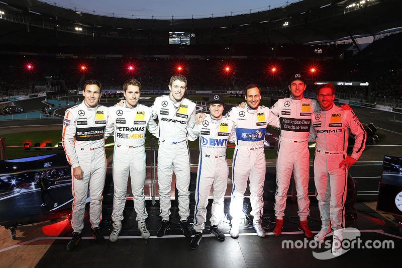 Pilotos da Mercedes DTM