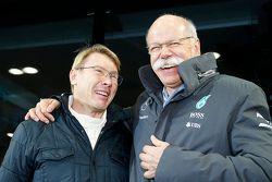Mika Häkkinen und Dr. Dieter Zetsche