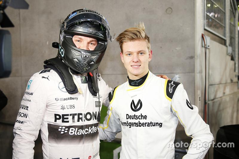 Nico Rosberg eMick Schumacher