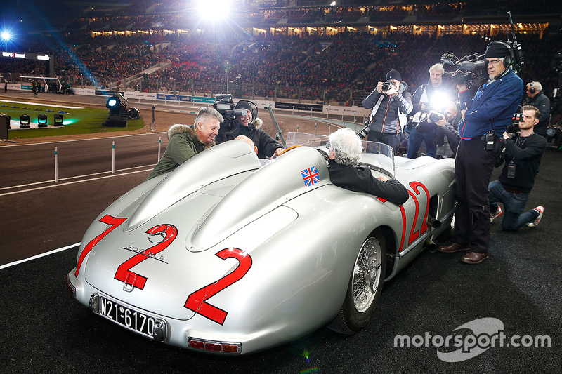 Hans Hermann e Sterling Moss