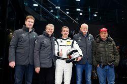 Ola Kaellenius, Dr. Thomas Weber, Bernd Schneider Dr. Dieter Zetsche, Niki Lauda