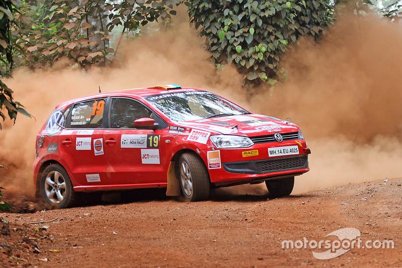 Deam Mascarenhas And Shanmuga Sn Volkswagen Polo At Fia Asia Cup India