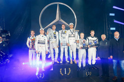 Себастьян Аш, Лука Людвиг, Нико Росберг, Mercedes AMG F1, Паскаль Верляйн, Даниэль Хункаделья, Льюис