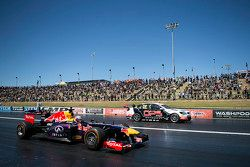 Daniel Ricciardo, Red Bull-Renault RB7 and Nick Percat