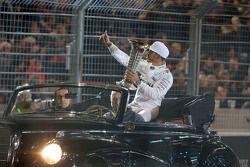 2015 F1 champion Lewis Hamilton, Mercedes AMG F1