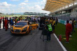 #26 B-Quick Racing Audi R8 LMS Cup V10: Henk Kiks, Daniel Bilski, Peter Kox