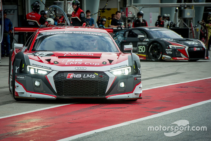 #15 Audi HK Powered by Phoenix Racing Asia Audi R8 LMS: Marchy Lee, Shaun Thong, Alex Yoong