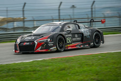 #150 Audi Sport Team WRT Audi R8 LMS: Enzo Ide, Christopher Haase, Christopher Mies