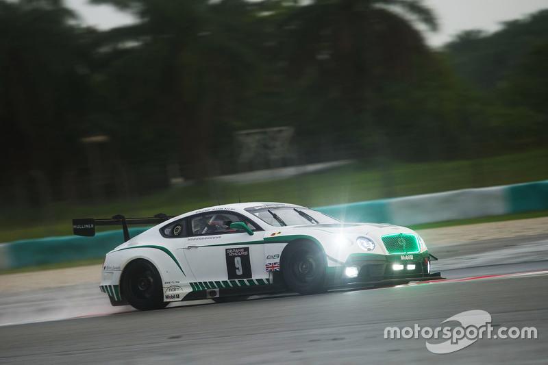 #9 Bentley Team M-Sport Bentley Continental GT3: Guy Smith, Vincent Abril, Steven Kane