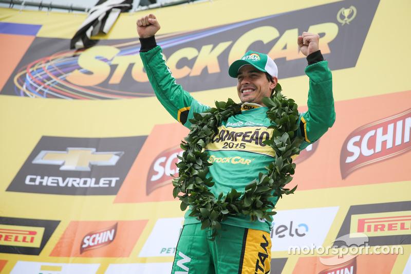 Marcos Gomes, Campeón 2015 del V8 Stock Car Brasileño