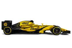 Ein mögliches Farbdesign für das Haas F1 Team 2016