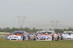 Christian Ledesma, Jet Racing Chevrolet, Camilo Echevarria, Coiro Dole Racing Torino, Federico Alons