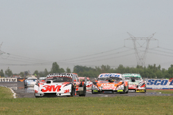 Mariano Werner, Werner Competicion Ford, Guillermo Ortelli, JP Racing Chevrolet, Facundo Ardusso, Tr