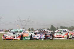 Facundo Ardusso, Trotta Competicion Dodge, Emanuel Moriatis, Alifraco Sport Ford, Mariano Altuna, Altuna Competicion Chevrolet