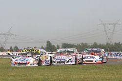 Martin Serrano, Coiro Dole Racing Dodge, Camilo Echevarria, Coiro Dole Racing Torino, Christian Ledesma, Jet Racing Chevrolet