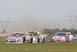 Camilo Echevarria, Coiro Dole Racing Torino, Martin Serrano, Coiro Dole Racing Dodge, Christian Ledesma, Jet Racing Chevrolet