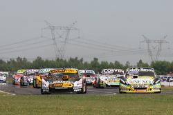 Leonel Pernia, Las Toscas Racing Chevrolet, Matias Rossi, Donto Racing Chevrolet, Juan Marcos Angeli