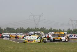 Matias Rossi, Donto Racing Chevrolet, Leonel Pernia, Las Toscas Racing Chevrolet, Lionel Ugalde, Uga