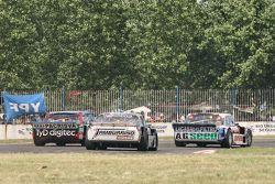 Mathias Nolesi, Nolesi Competicion Ford, Diego de Carlo, JC Competicion Chevrolet, Gabriel Ponce de