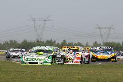 Agustin Canapino, Jet Racing Chevrolet, Mauricio Lambiris, Coiro Dole Racing Torino, Josito di Palma, CAR Racing Torino