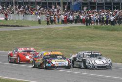 Matias Rodriguez, UR Racing Dodge, Laureano Campanera, Donto Racing Chevrolet, Christian Dose, Dose Competicion Chevrolet