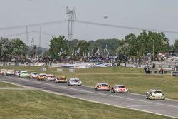 Omar Martinez, Martinez Competicion Ford, Mariano Werner, Werner Competicion Ford, Guillermo Ortelli