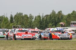Jose Manuel Urcera, Las Toscas Racing Torino, Matias Rossi, Donto Racing Chevrolet