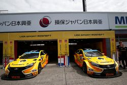 Lada Sport Rosneft garage