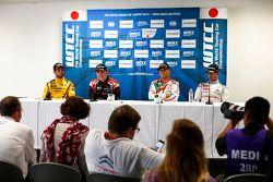 Nicolas Lapierre, Lada Sport Rosneft, Norbert Michelisz, Zengo Motorsport, Gabriele Tarquini, Honda