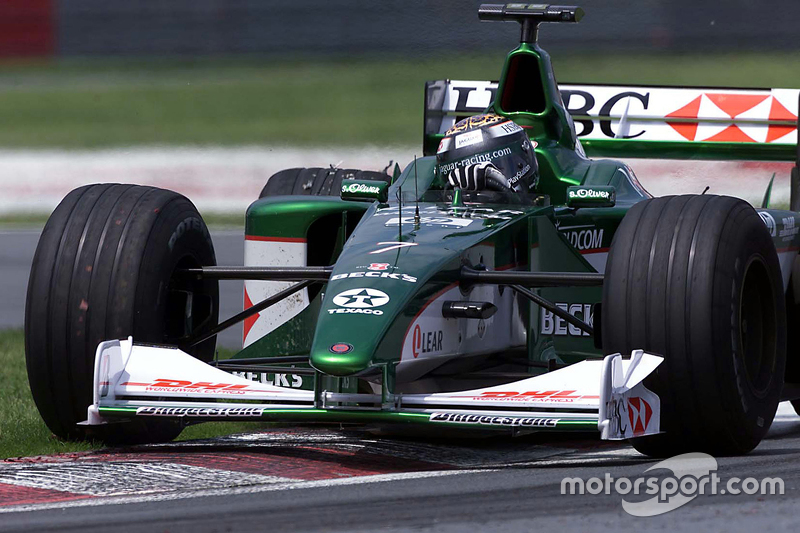 Eddie Irvine, Jaguar Racing