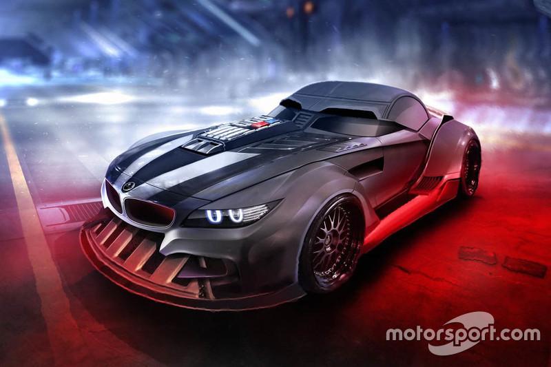 Dark Vador, BMW Z4