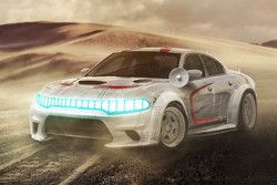 Han Solo, Millennium Falcon, Dodge Charger Hellcat