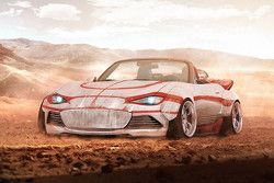 Luke Skywalker, Mazda MX-5 Land Speeder edition